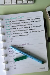 GreenBook- Project Planner