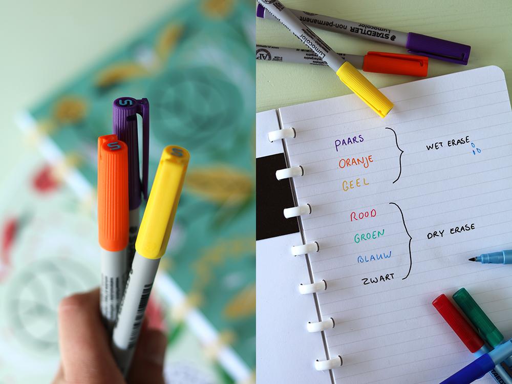 greenstory gekleurde pennen