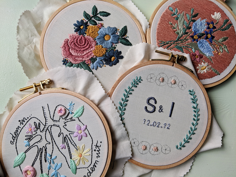 Iris Borduurt - Nieuw in mijn Etsy shop
