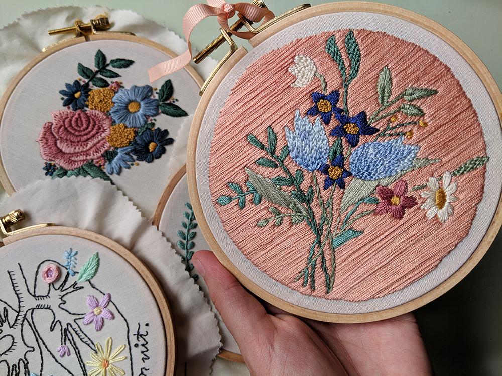 Selectie uit online borduurshop Iris Borduurt