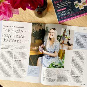 Interview Iris ter Haar in Vriendin (36, 2021)